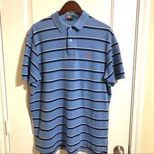 Polo Ralph Lauren Blue Short Sleeve Polo XL